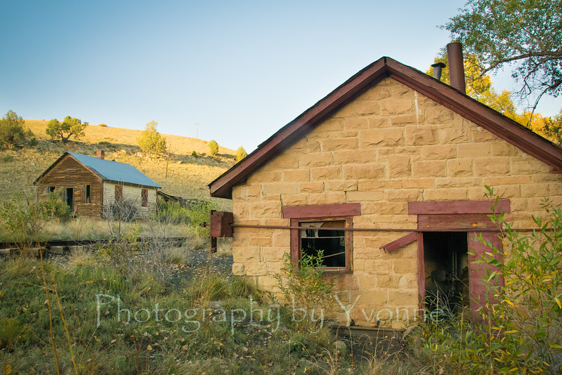 Pumphouse at the old Gato Station, Colorado