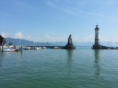 The Harbour at Lindau.