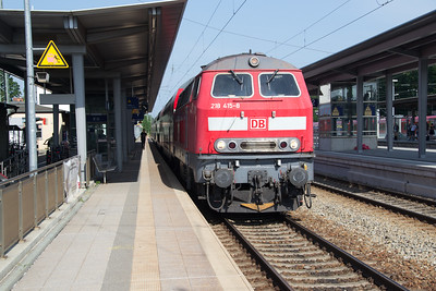 218-415 pauses at Geltendorf 03 Jul 2015