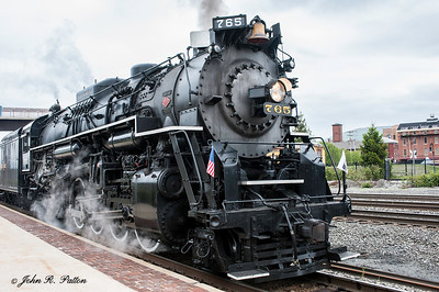 Nickel Plate Road steam train