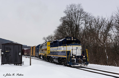 Nittany & Bald Eagle locomotive NBER 1601
