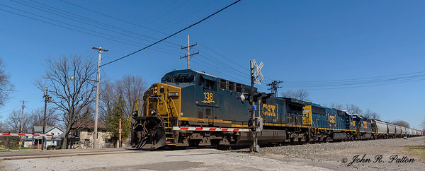 CSX locomotive 138