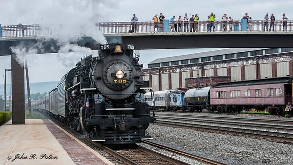 Nickel Plate Road steam train
