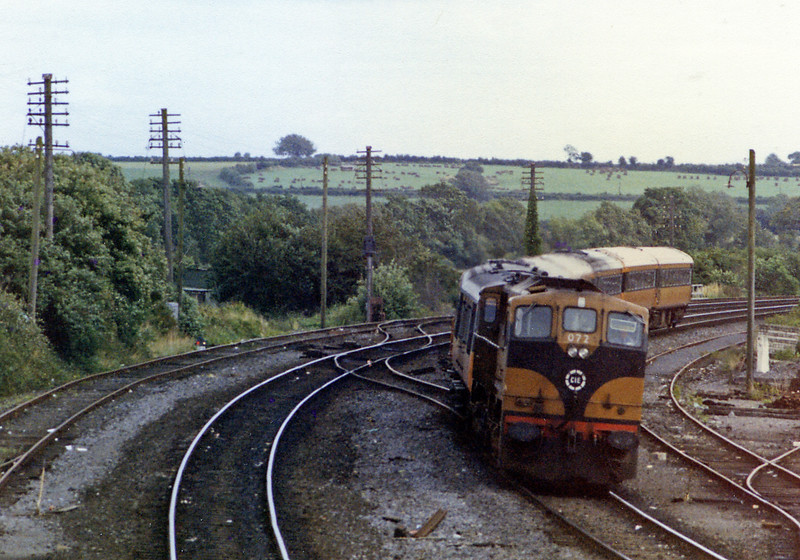 072 is at the head of my train back to Cork, the 14:40 from Dublin Hueston (Portarlington 15:21). From Kent station I walked to Parnell Place bus station for the 18:15 Expressway bus back to Schull (arr 21:00). It was a long day out.