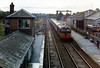 A few minutes later and at 15:38 the 13:45 Tralee to Dublin pulled in behind Metro Vick/EMD A class 017