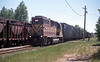 It passed a local behind 3023, another former Western Pacific GP40