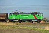 1198 wears the livery of Green Cargo, the freight business spun off from SJ.