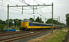 In the opposite direction is a train of ICM Wadloper EMUs on a Enschede to Amsterdam service.