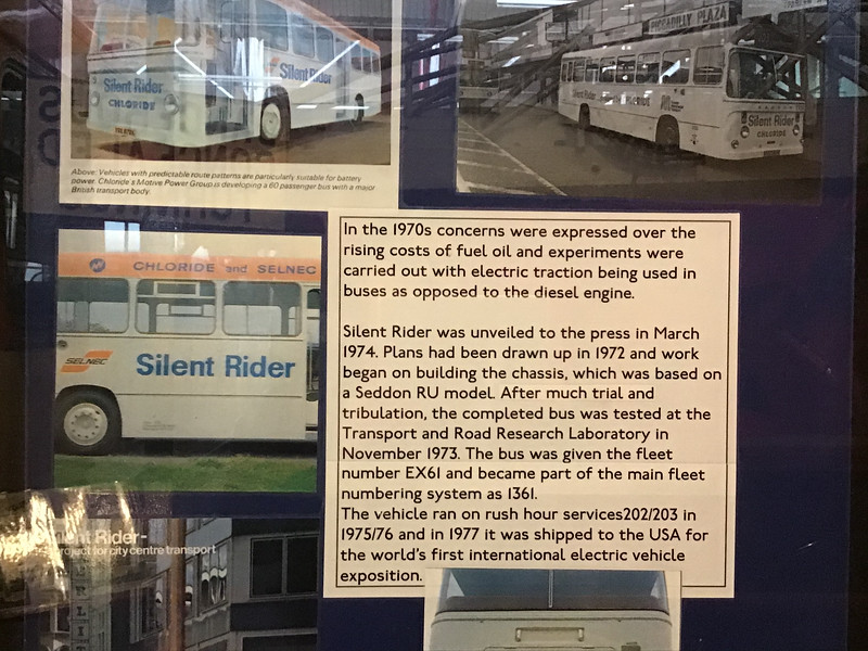 Public sector public transport providers were always more ambitious, imaginative and innovative than their private sector successors - who are risk averse and generally late adopters of any consumer, tech or social development. 'Each household appliance is like a new science in my town.'
