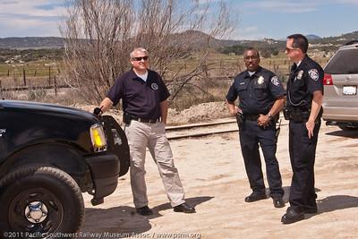 Carizzo Gorge Railway Police
