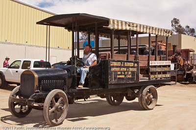 1922 Mack truck used to transport guests from the parking lot to the Display Building