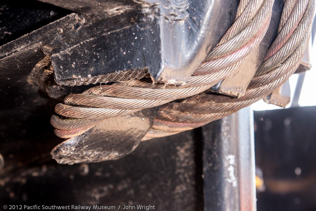 Lifting sling closeup