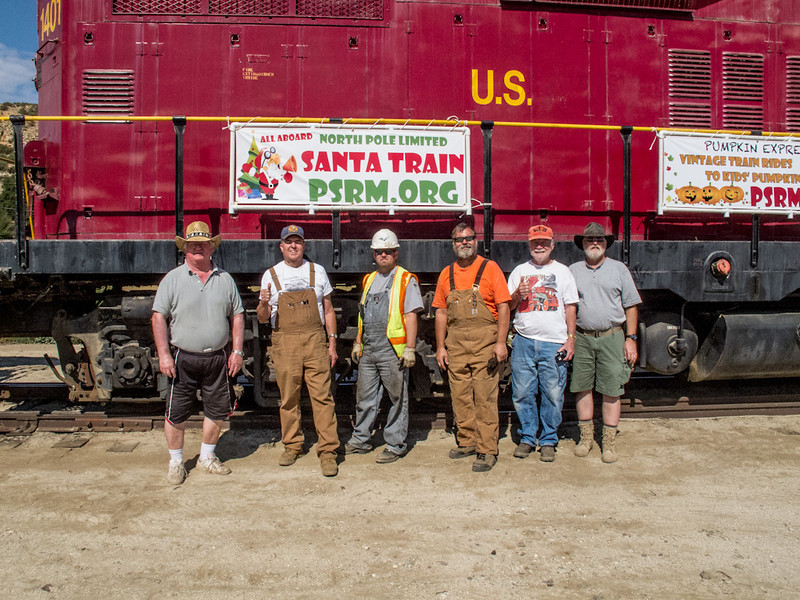Campo crew, left to right Ken Helm, Larry Rose, Mike Edwards, Rusty Hoar, Frank Stites and John Wright.  thanks to Brian Elmore for taking the picture