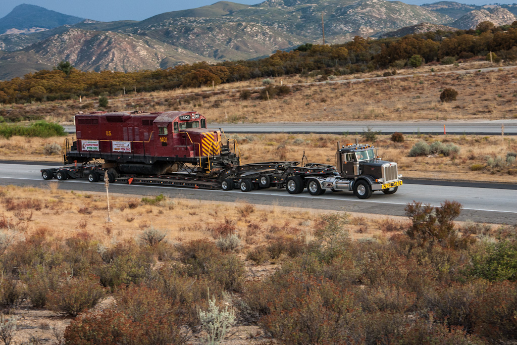 Intermodal:  You're doing it backwards...