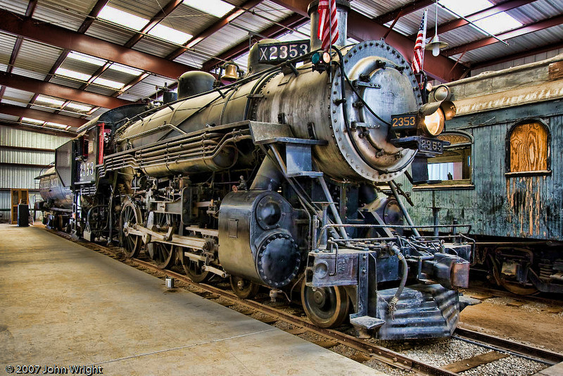 Alternative processing on the SOUTHERN PACIFIC COMPANY #2353 Steam Locomotive.
