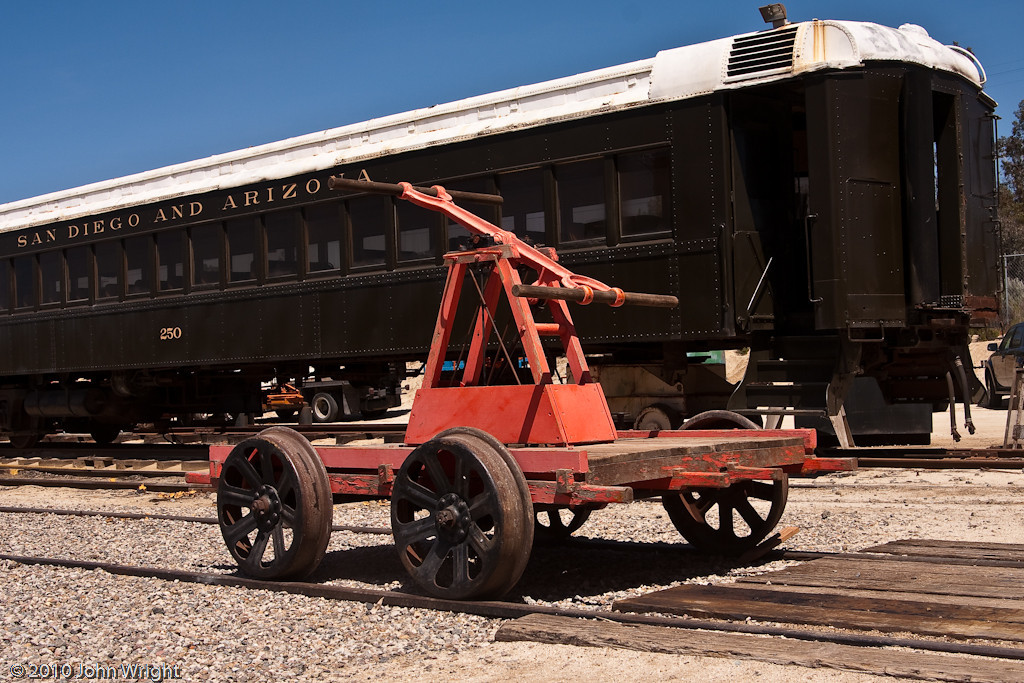 Antique handcar recently purchased