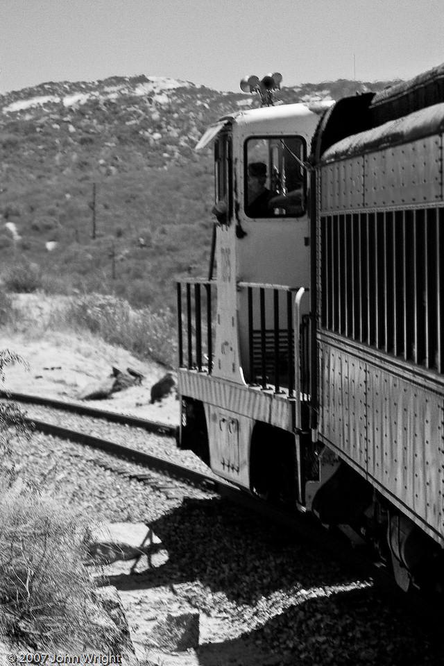 B&W locomotive