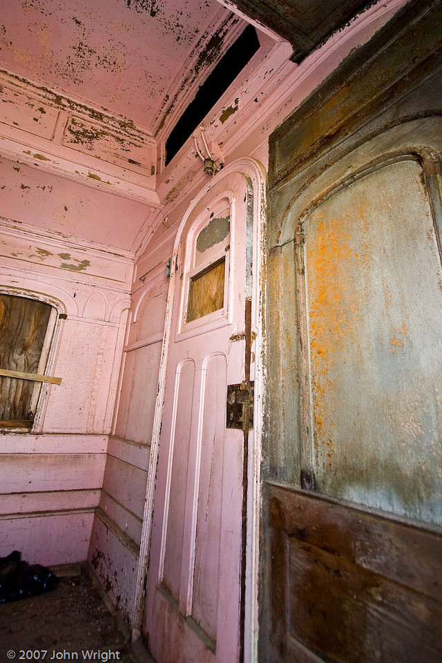 SAN DIEGO & ARIZONA #240 Coach (ex-Southern Pacific #1375) interior