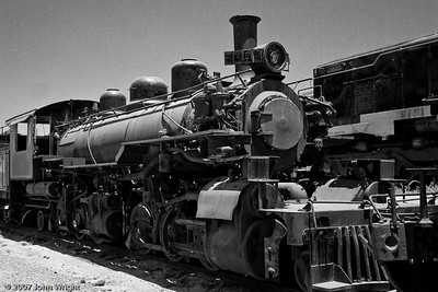 CALIFORNIA WESTERN #46 Steam Locomotive, a 2-6-6-2 Mallet type.