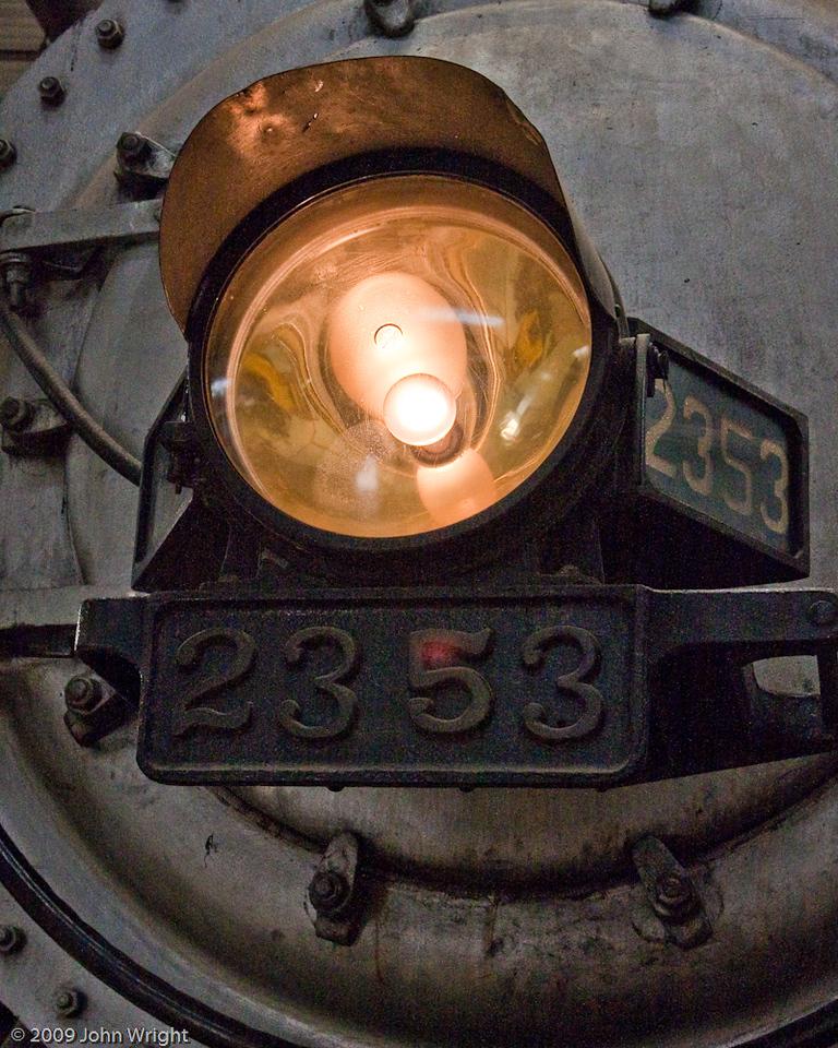 Headlight of SP 2353