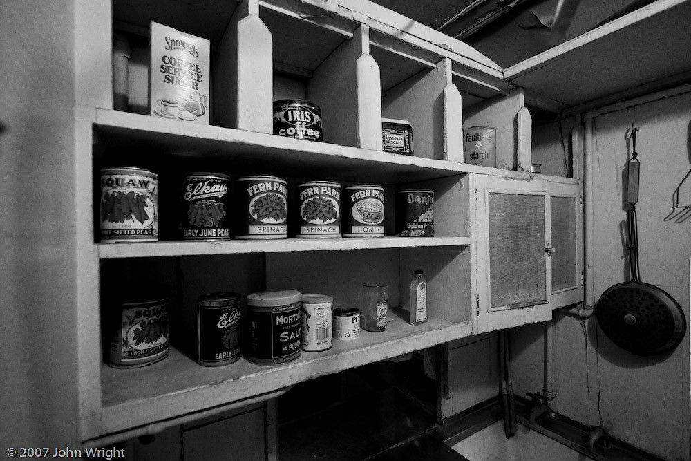 Pantry inside of San Diego & Arizona Eastern Railway #050, Carriso Gorge Business Car