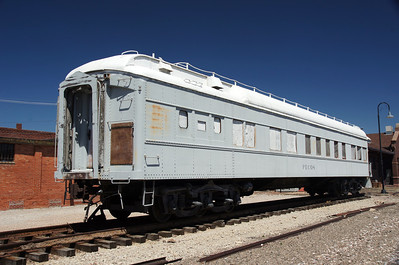 "Illinois Central passenger car ""Pecos"" located in Holdrege, NE"
