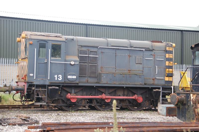 EE 2146/VF D336 H049 13 - Darley Dale, Peak Rail - 21 August 2016