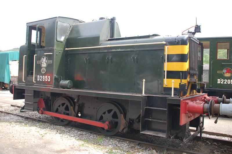 D2953 - Rowsley, Peak Rail - 12 May 2018