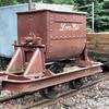 14 Steel Side Tipping Skip 'U' Type - Perrygrove Railway 04.08.13  Kev Adlam