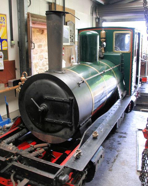 3 Lester Jones 0-4-0+0-4-0T - Perrygrove Railway 10.06.12  Andrew Murray
