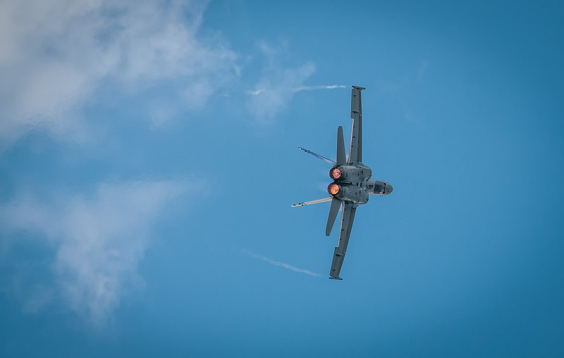CF-18, participant of the 2013 Chenault Air Show in Lake Charles, LA