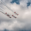 The AeroShell Aerobatic Team.  Participants of the 2013 Chenault Air Show in Lake Charles, LA
