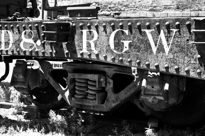 From the railroad museum, Golden, Colorado