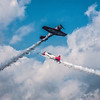 The AeroShell Aerobatic Team, participants of the 2013 Chenault Air Show in Lake Charles, LA