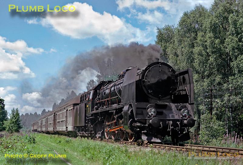 PKP Class Pt47 near Krasnik, 1st July 1974