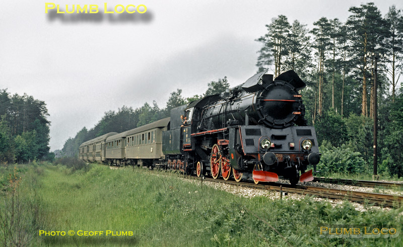 PKP Ol49-87, near Rudnik, 30th June 1974
