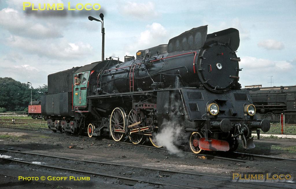 PKP Ol49-105, Wolsztyn, 18th August 1984