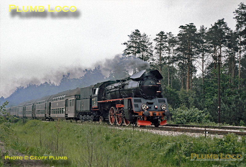 PKP No. Ol49-35 near Rudnik, 30th June 1974