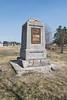Sons of Mrtha monument in Moosonee. Memorial to men who died building the rail line to Moosonee.
