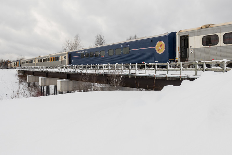 Refurbished passenger coach 650.
