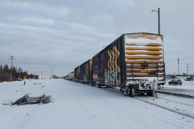 Special Saturday edition of the Polar Bear Express in Moosonee 2017 December 23rd