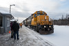 Special Saturday edition of the Polar Bear Express arriving in Moosonee 2017 December 23rd.