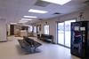 Interior Moosonee train station.