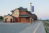 Cochrane train station.