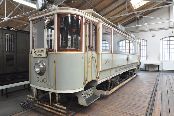 Prague Public Transport Museum and The National Technology Museum