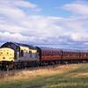 37232 approaches Kinneil Halt <br /> 24/9/1995