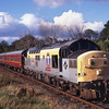 37232 approaches Birkhill with the 15.50hrs from Bo'ness<br /> 24/9/1995