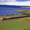 20189 + D8029 Skirt the Firth of Forth .<br /> What a shame the trees now spoil this view<br /> 24/9/1995
