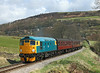 26038 seen on the climb to Oakworth station with the 12.55hrs Keighley - Oxenhope 	<br /> 26/04/2013