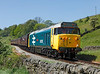 50026 on the 12.50hrs Oxenhope  - Keighley seen shortly after departure from Oakworth		<br /> 25/05/2012
